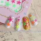 New 3D Colorful Nail Art Tips Stickers Decal Wraps Acrylic Manicure Decorations on Rummage