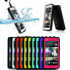 From US Stock Durable Waterproof Shockproof DirtProof Case Cover For HTC One M7