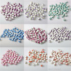 15pcs 12mm Round Chic Spacer Loose Ceramic Bead Ink Flower Style 13 Color Hot