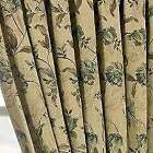 THICK GREEN HEAVY WEIGHT TAPESTRY CURTAINS PERIOD STYLE.3 SIZES & CUSHION COVERS