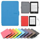 Ultra Slim PU Leather Smart Magnetic Case Cover For Kindle Paperwhite 1 / 2 + Film