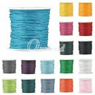 1 Roll 80m Waxed Cotton Macrame Cord Jewelry Beading Making String 0.5/1/1.5/2mm