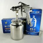 Suction Feed Air Spray Gun 1000cc 2.0mm 2.5mm 3.0mm Automotive Painting Tools