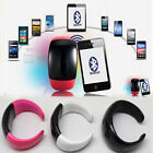Bluetooth Bracelet Watch Vibrating Alert Mic/Speaker for apple iphone 4/4s 5/5s