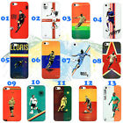 Personalised Custom Printed football star /ur Picture Case Cover fr iPhone 4/4S