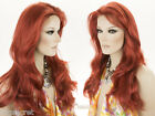 Glamorous, Off Center Part 26 in Long Wavy Blonde Brunette Red Grey Wigs
