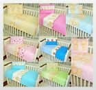2 PIECE SET 120/90 OR 135/100 PILLOWCASE & DUVET COVER FIT COT OR COTBED
