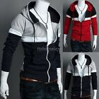 Mens Fashion Hoodie Jumper Hooded Sweatshirt Jacket Coat Sweater Hoodie ItS7