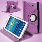 For Samsung Galaxy Tab 3 / 3 Lite 7.0 inch Tablet PU Leather Case Cover Rotating