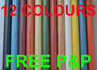 PLAIN RICE PAPER FOR DECOUPAGE 12 COLOURS DECOUPAGE DECOPATCH SHEETS WHITE CREAM