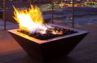 "HPC 36"" Sierra Square Copper Fire & Water Bowl - Match Lit  #SIER36W-MLFPK"