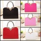 Womens Ladies fashion PU Leather Tote Satchel Shoulder Bag Crossbody Handbag