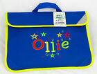 Personalised Embroidered Kids book bag for school  - Bright Star design any name