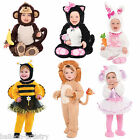 Baby Toddler Infant Easter Halloween ANIMAL Plush Fancy Dress Party Costume