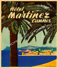 Vintage Cannes Travel Advertisement print poster-4 large sizes available