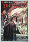 Vintage Quo Vadis ad print poster, large 4 sizes available