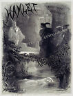 Vintage Hamlet art ad print poster, large 4 sizes available