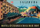 Vintage Austria Travel Advertisement print poster, 4 large sizes available