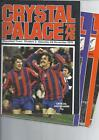Crystal Palace Homes Football Programmes 1975/76 to 1979/80 All 99p each