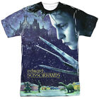 Edward Scissorhands Movie Poster All Over Sublimation Poly Adult Shirt S-3XL
