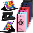 "Folio Rotatel Case Stand Cover for Samsung Galaxy Tab 4 8.0"" Inch SM-T330NU T337"