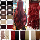 UK Seller clip in hair extensions human color real hot natural looking 3-5 days