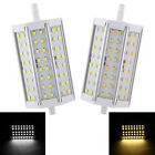 R7S 10W 85-265V 48pcs Leds 2835 SMD LED Light Bulb 118mm Cold/Warm White 1000LM