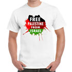 Starlite Mens Novelty tshirts-Free Palestine-From Israel tshirt -Various Colours