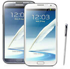 N Samsung Galaxy Note II 2 SPH-L900-16GB (Sprint) Smartphone - White or Gray (A)