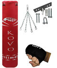 Aasta filled Boxing bunch Bag set Chain, Hook, Mitts, Rope, Inner gloves,Gripper