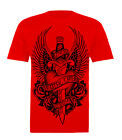 FATAL WINGED HEART & DAGGER T SHIRT LOS ANGELES CLASSIC THREADS MEN'S ALL SIZES