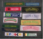World Scouting - National Membership Name Strip Scout Badge Patch - Choice # B