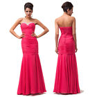 Stock Ladies Formal Evening Ball Gowns Pageant Cocktail Party Proms Celeb Dress
