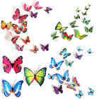 12PCS New 3D Butterfly Sticker Decal Wall Stickers Home Decor Room Decorations