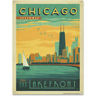 Chicago Lake Front Metal Sign