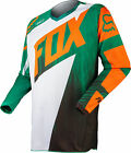 NEW 2015 FOX RACING 180 VANDAL MX DIRTBIKE OFFROAD JERSEY GREEN/ORANGE ALL SIZES