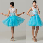 NEW TREND Womens Swing Short Formal Evening Party Cocktail Bridesmaid Prom Dress