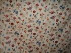 Lee Jofa Valaria Screen Print floral fabric by the yard beige multicolored