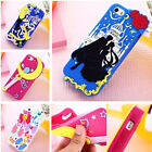 Sailor Moon Character 3D Silicone Phone Cover Case For Apple Iphone 4/4s/5/5s