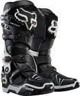 NEW FOX RACING INSTINCT MX DIRTBIKE MOTOCROSS OFFROAD BOOTS BLACK ALL SIZES