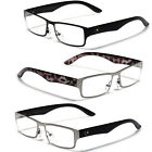 UV400 Clear Lens Men's Sunglasses Optical RX Prescription Frames Eye-Glasses New
