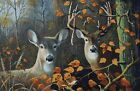 AUTUMN DEER # 3 - CROSS STITCH CHART