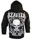 NEW HOLIDAY XZAVIER HOODIE DEATH DEALER SKULL HOODY URBAN WEAR MEN'S ALL SIZES