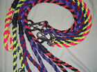 35 inch 4 Strand Braided Paracord Dog Lead obedience show Rally Training