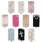 3D Rhinestone Design PU Wallet Flip Stand Case Cover For Samsung Galaxy S3 i9300