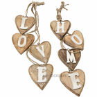 Rustic Wooden Wall Hanging Word Decoration Plaque Sign Art Ornament Shabby Chic