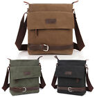 Men's Satchel Bag Handbag Canvas+Leather Shoulder Totes Messenger Bag AB189