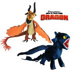 How to Train Your Dragon Plush Toy Toothless & Nightmare Black & Yellow Dragon