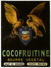Vintage French Cocofruitine print poster, large 4 sizes available