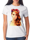 Lana Roses T-Shirt Girls White Del Rey Adele Katy Perry Lorde Lady Gaga